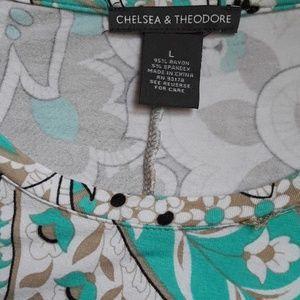 Chelsea & Theodore Tops - Long handkerchief hem tunic ♡ Chelsea and Theodore